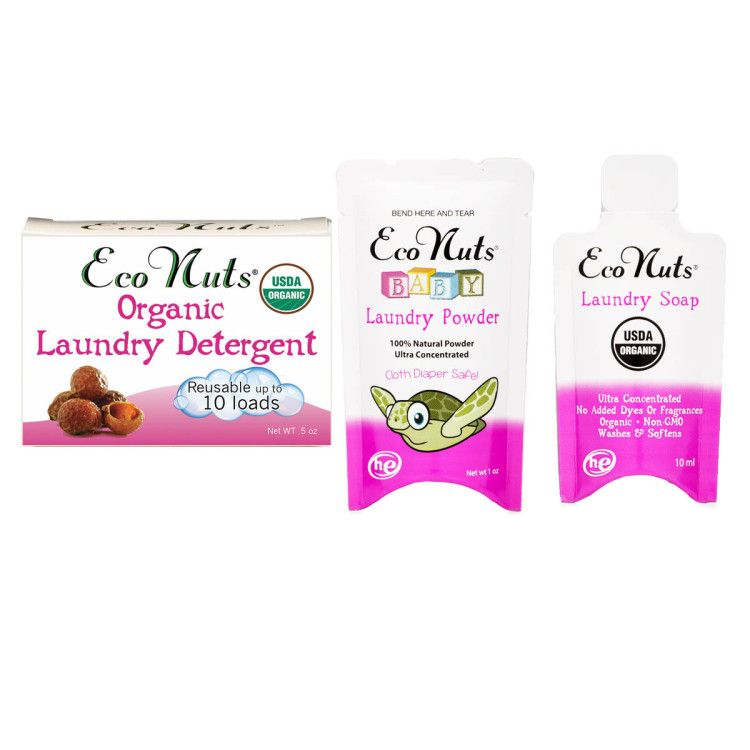 Eco Nuts Organic Soap Nuts 3 For 5 Trial Pack Soap Nuts