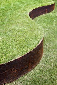 ami industrie tolerie fine metallerie bordures de jardin acier corten technique am nagement. Black Bedroom Furniture Sets. Home Design Ideas