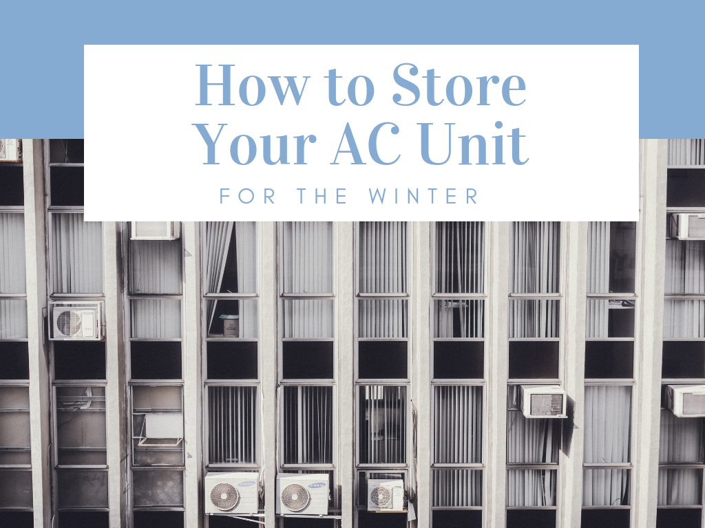 How to Properly Store an Air Conditioner for the Winter