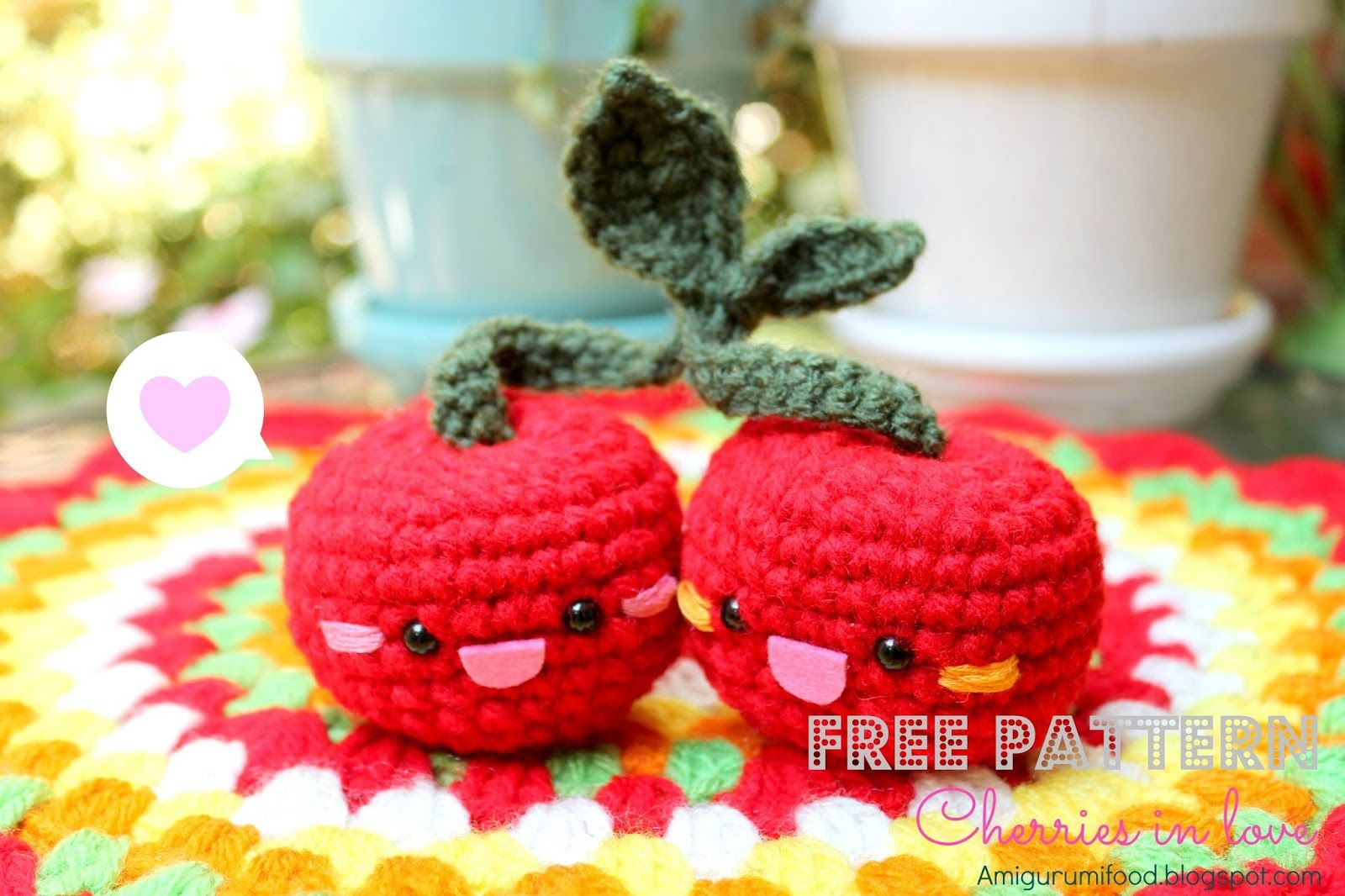 Crochet Amigurumi Fruits Free Patterns | 1066x1600