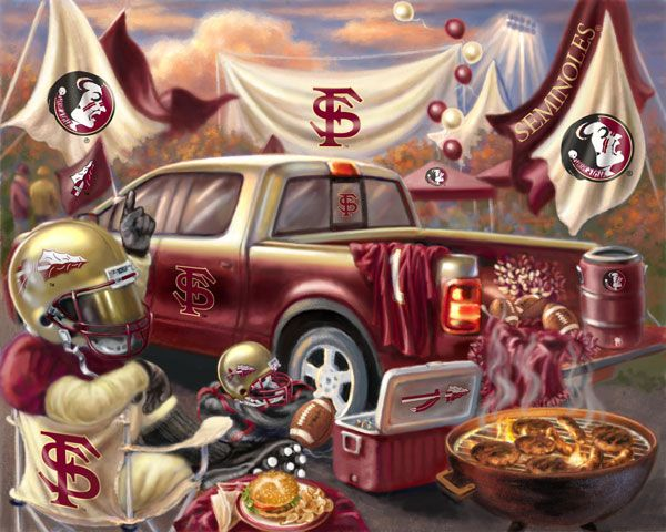 the proper way to tailgate - go noles!