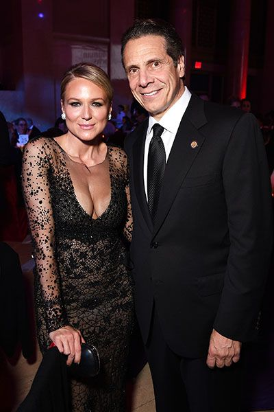 Jewel and honoree governor Andrew M. Cuomo attend the Elton John AIDS Foundation's 13th Annual An Enduring Vision Benefit at Cipriani Wall Street on October 28, 2014 in New York City. | Billboard