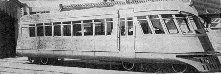 V.F.R.G.S. - A Home-Built Rail Car