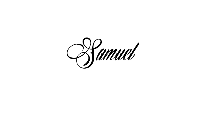 Tattoo Name Samuel Using The Font Style Billion Stars Name Tattoos Tattoo Name Fonts Tattoos