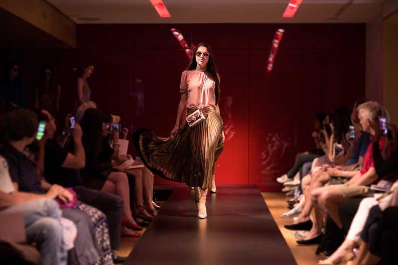 Fashion Show At Galeries Lafayette Haussmann Fashion Galeries Lafayette Catwalk Models