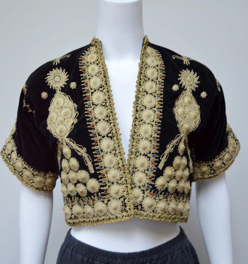 Phenomenal The Opulence Of Ottoman Embroidery Vtg Xs S Ottoman Black Frankydiablos Diy Chair Ideas Frankydiabloscom