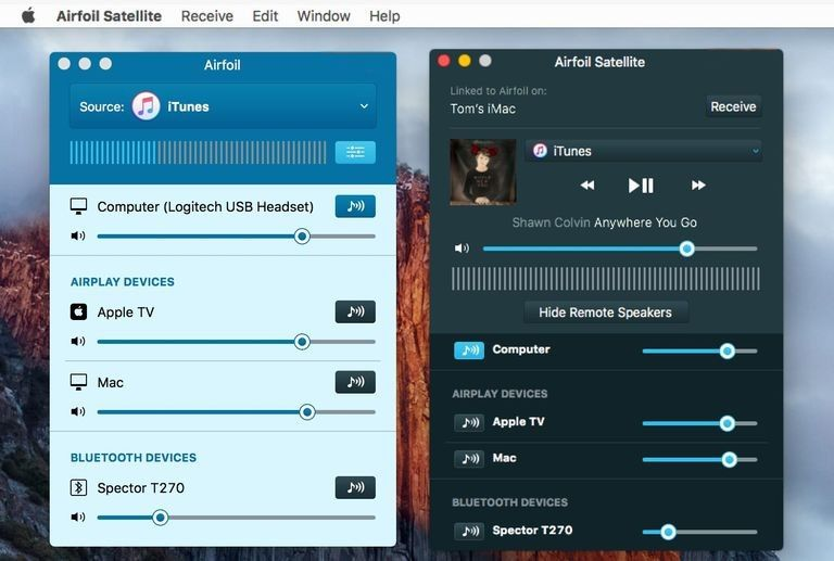Airfoil 5.7.1 for Mac 破解版 音乐播放器 Bluetooth audio, Mac