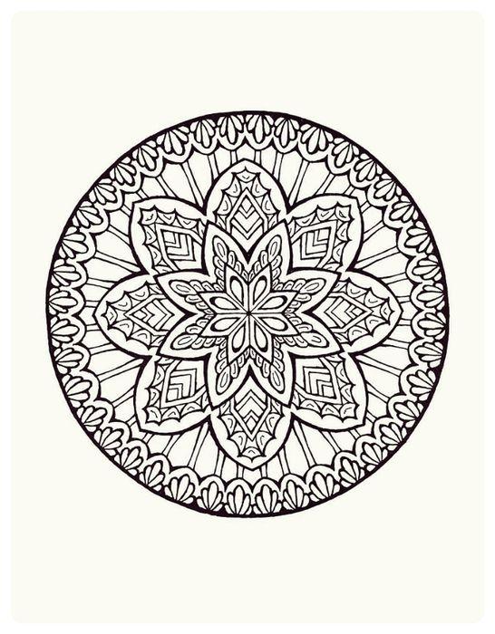 Mystical Mandalas Coloring Book P 17 Mand0019trtr 546x700 196kb