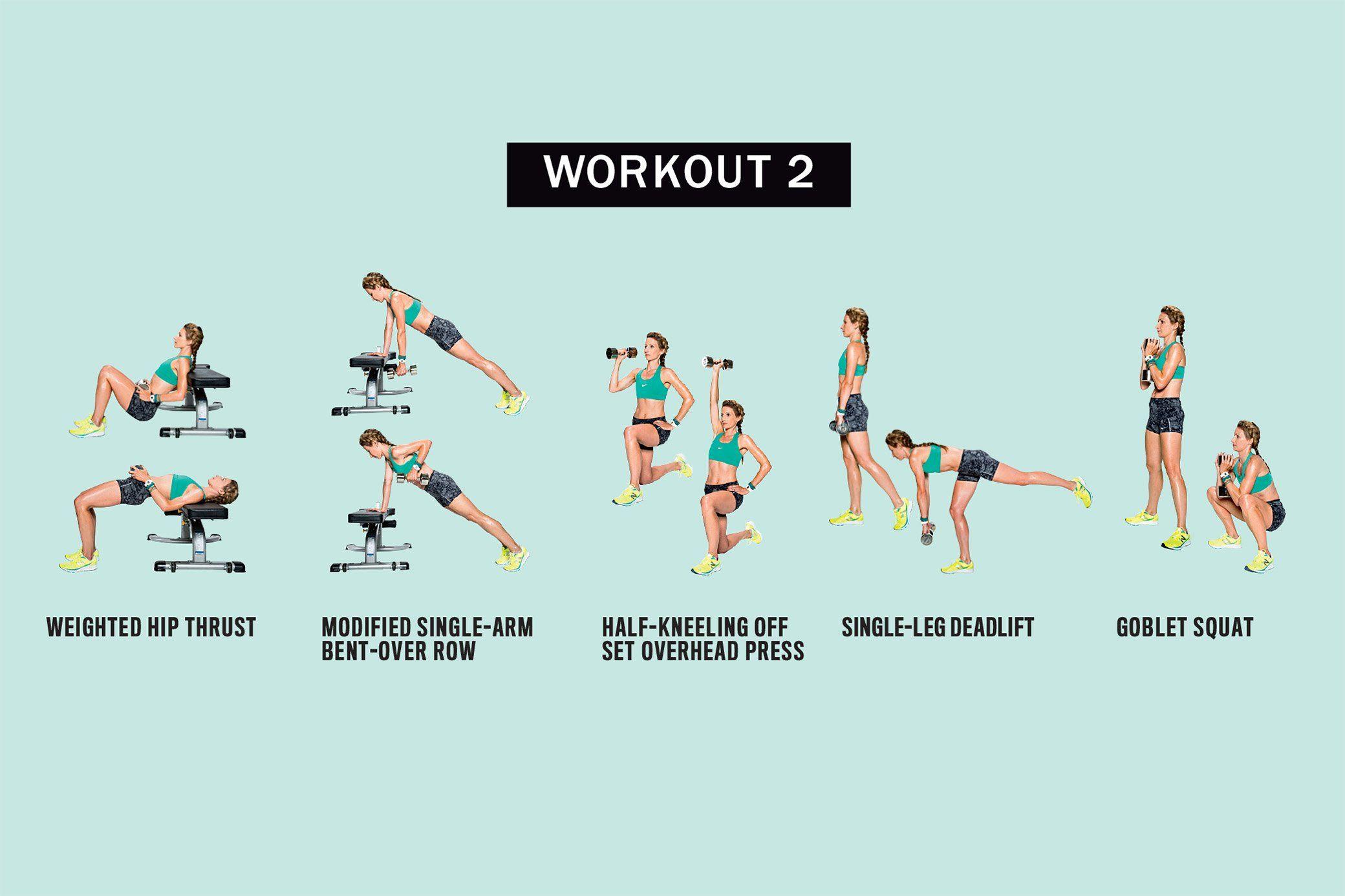 Workout 2 http://www.runnersworld.com/workouts/get-stronger-to-run-faster/slide/8