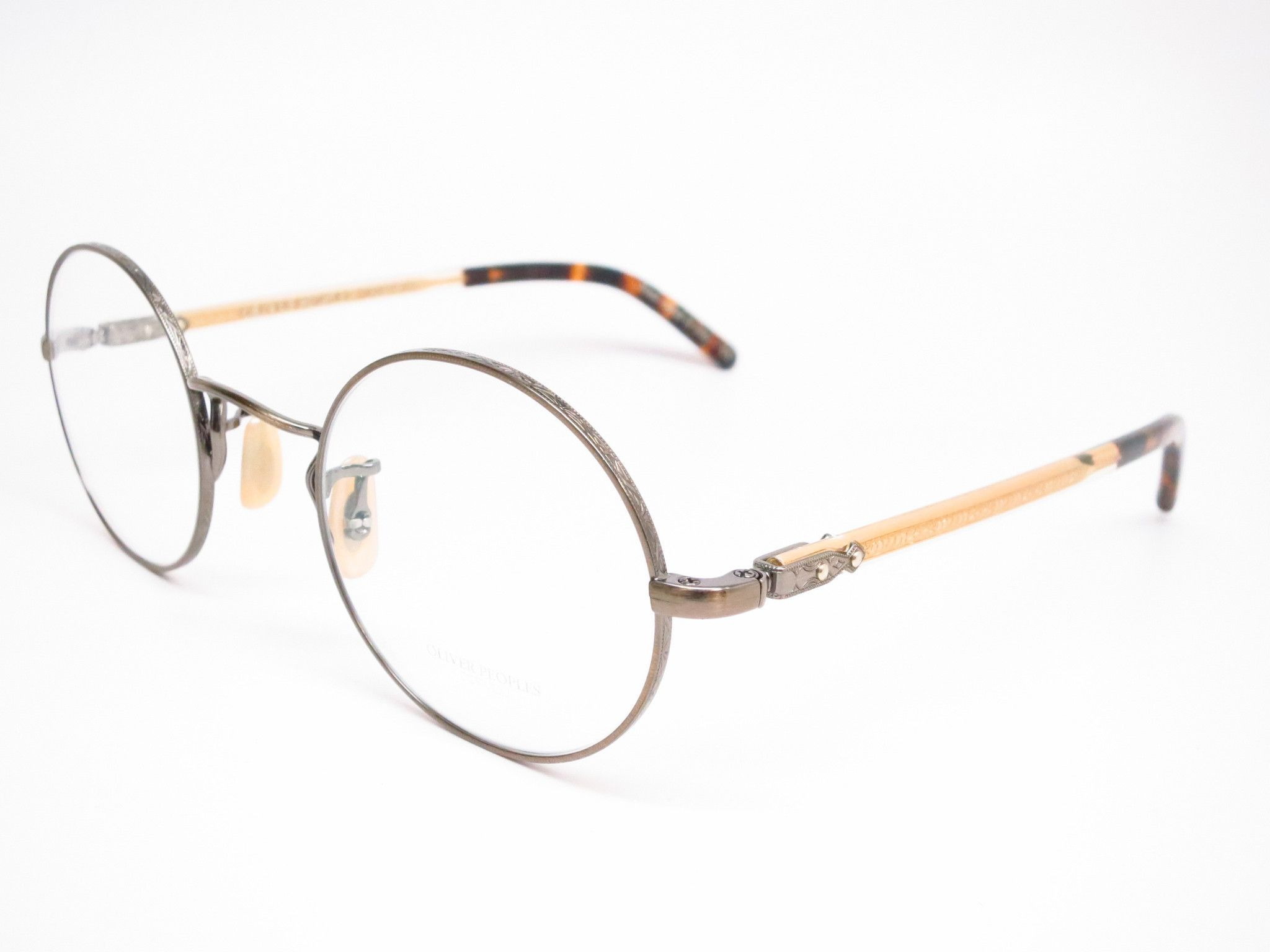 Oliver Peoples Overstreet OV 1190 5039 Antique Gold Eyeglasses ...