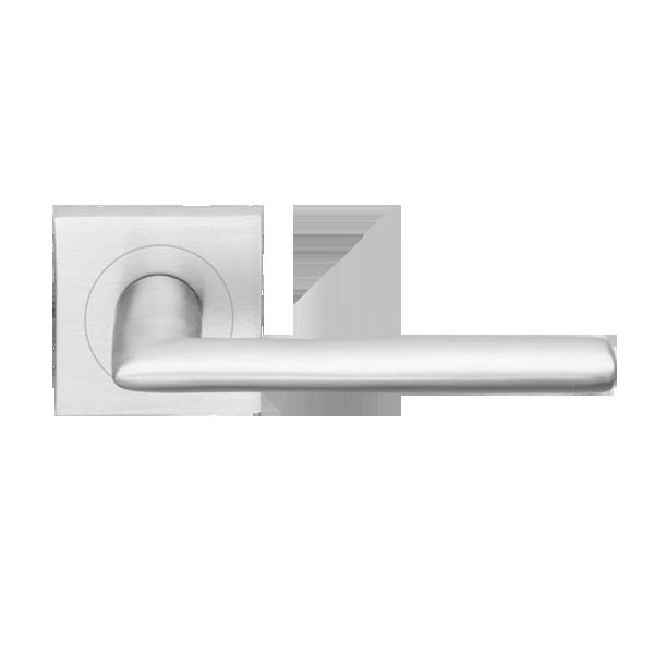 Designer Doorware \ Catalina\  on square rose & Designer Doorware \