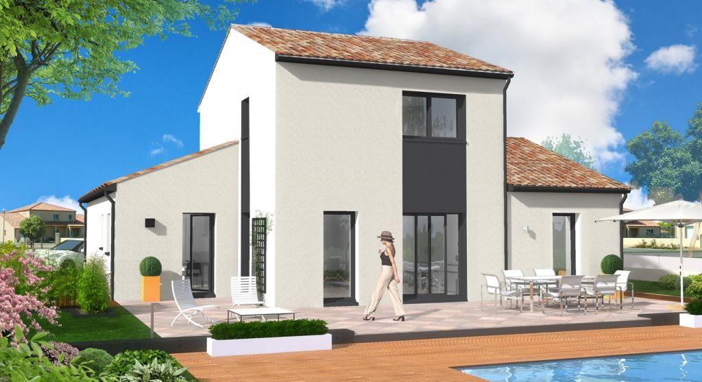 Les maisons BERNERIE de 123 m² habitables à toit tuile, résidences d