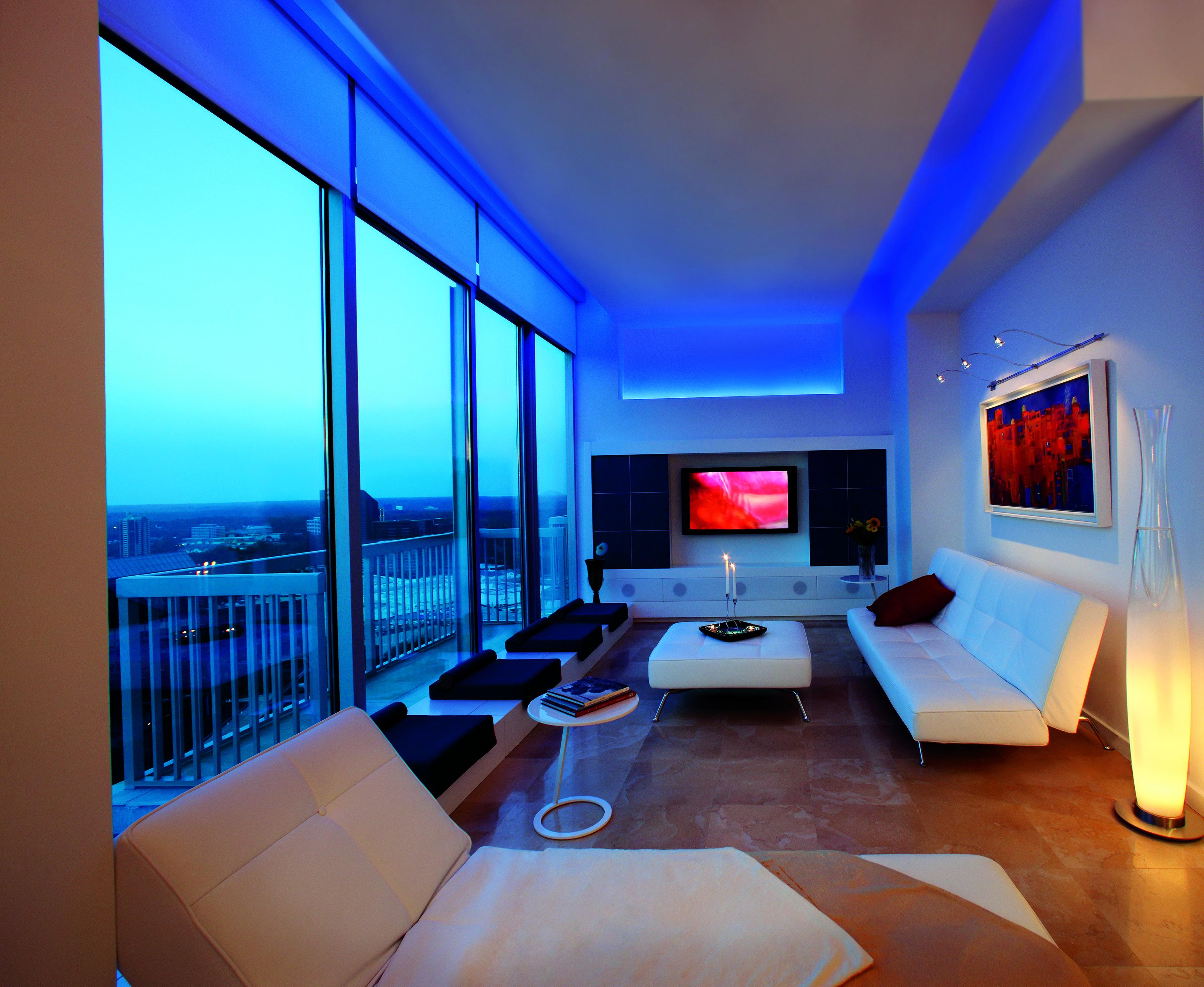Led Soft Strip Light By Edge Lighting Living Room