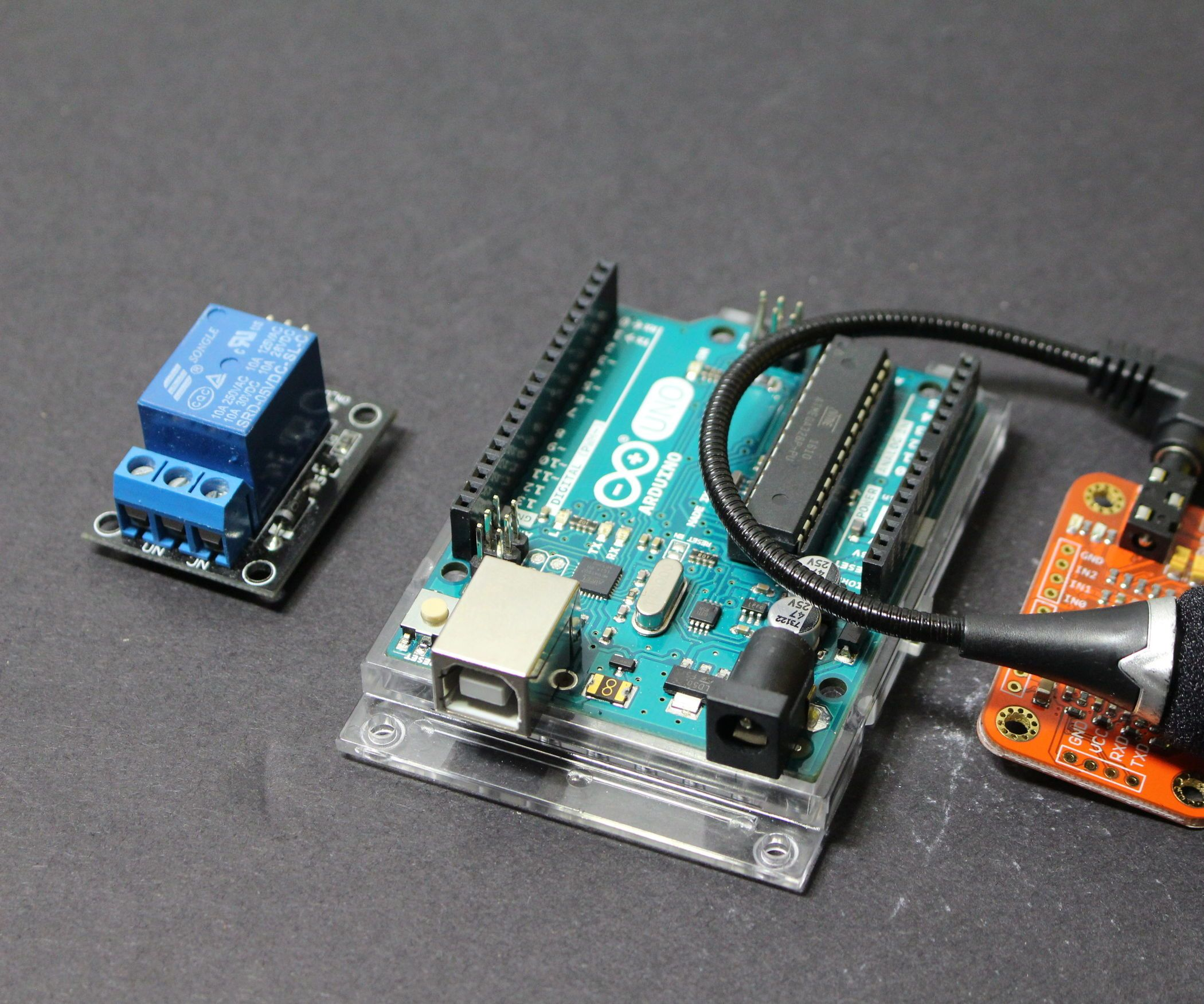 Voice Activated Relay Switch Arduino Pinterest Pics Photos Build Your Own Metal Detector Projects Circuits Raspberry Pi