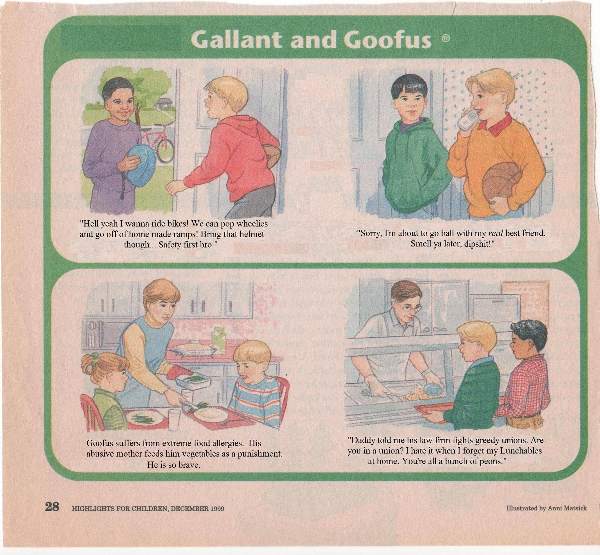 antithesis of goofus in highlights for children Antithesis of goofus in highlights for children argumentative essay formats apple ethical issues essay best book mba essays barack obama's college thesis at.