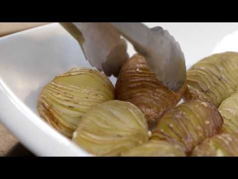 Hasselback Potatoes with Sour Cream and Bacon - Video - The Breeze