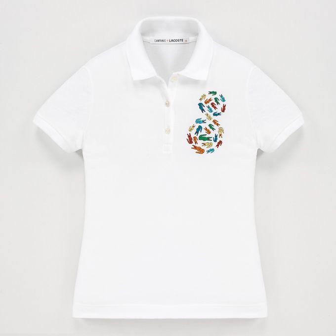 ブラジルの兄弟ユニット「カンパナ・ブラザーズ」デザインのラコステ限定ポロシャツの写真1