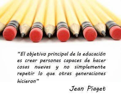 Constructivismo Frases De Educacion Jean Piaget Y Frases