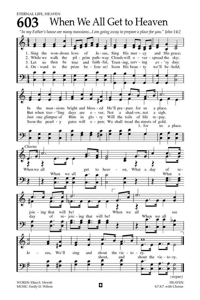 Baptist Hymnal 2008 603 Sing The Wondrous Love Of Jesus Hymnary