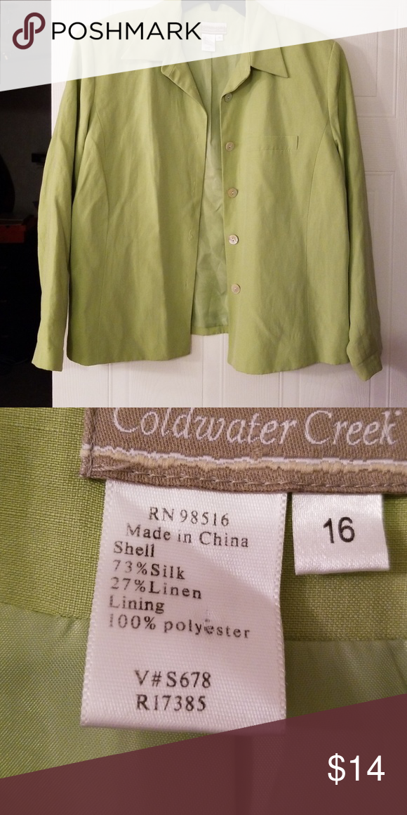 Coldwater Creek Coats