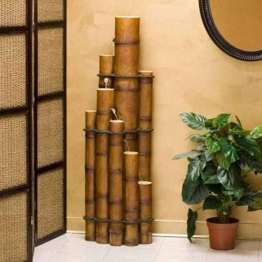 Home Design and Decor , Natural Bamboo Fountain For Interior : Eight on water bottle design, water plug design, water pipe design, water brake design, water wheel design, water channel design, water piping design, water body design, water floor design, water tank design, water can design, water filter design, water heater design, water frame design, water board design, water slide design, water foil design, water screen design, water glass design, water jar design,