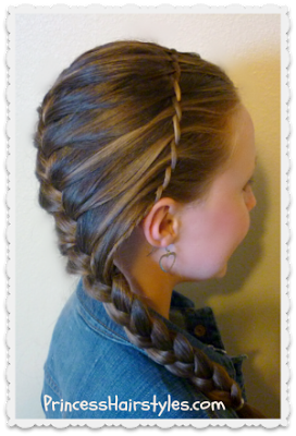 Waterfall Twist Braid Headband And French Braid Hairstyle Now Online Princess Hairstyles With Images Hair Styles Twist Braids Princess Hairstyles