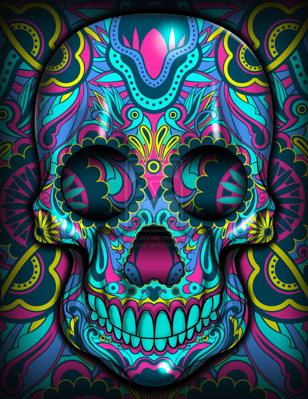 Skulls la vengadora by jpeay on deviantart