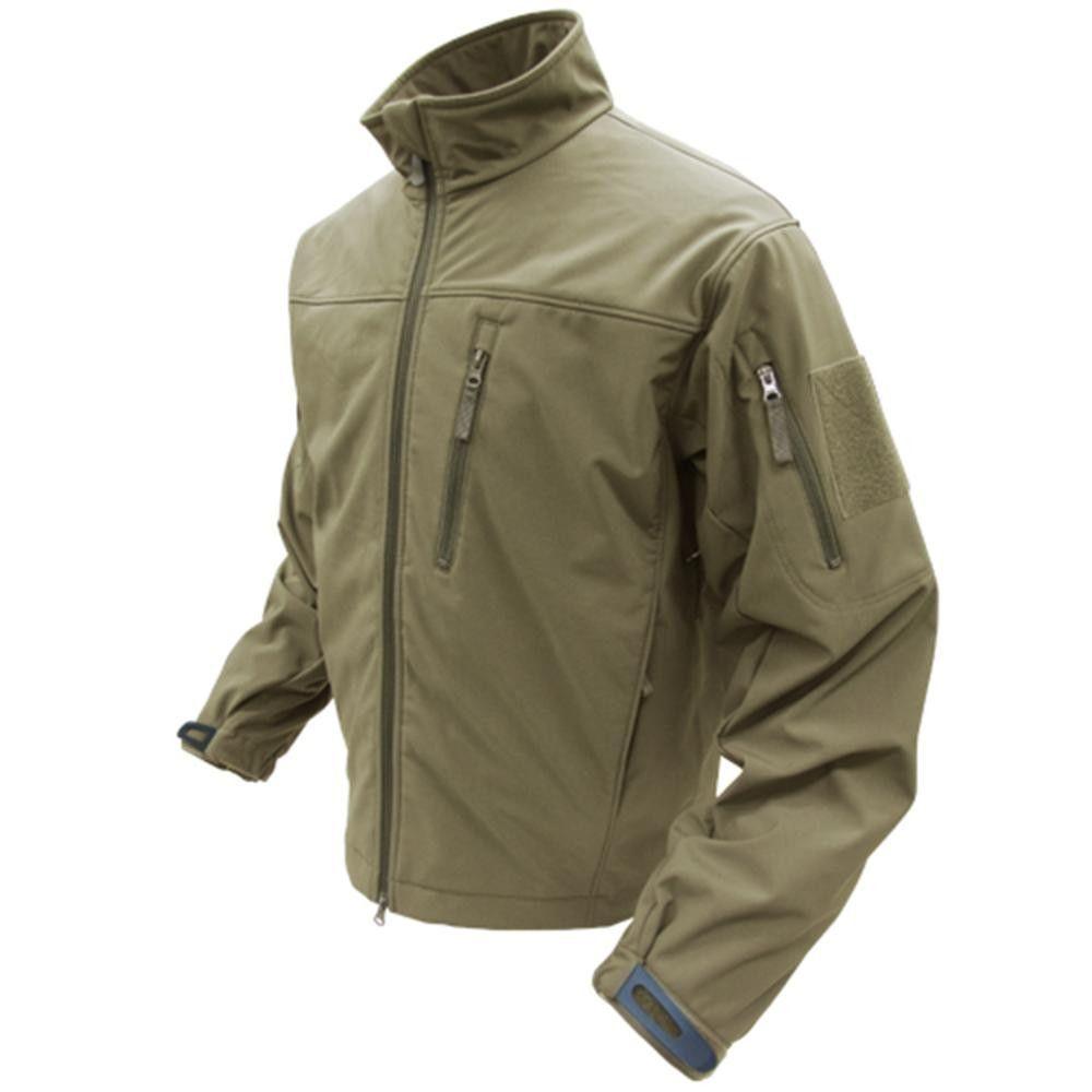 Phantom Soft Shell Jacket Color- Tan