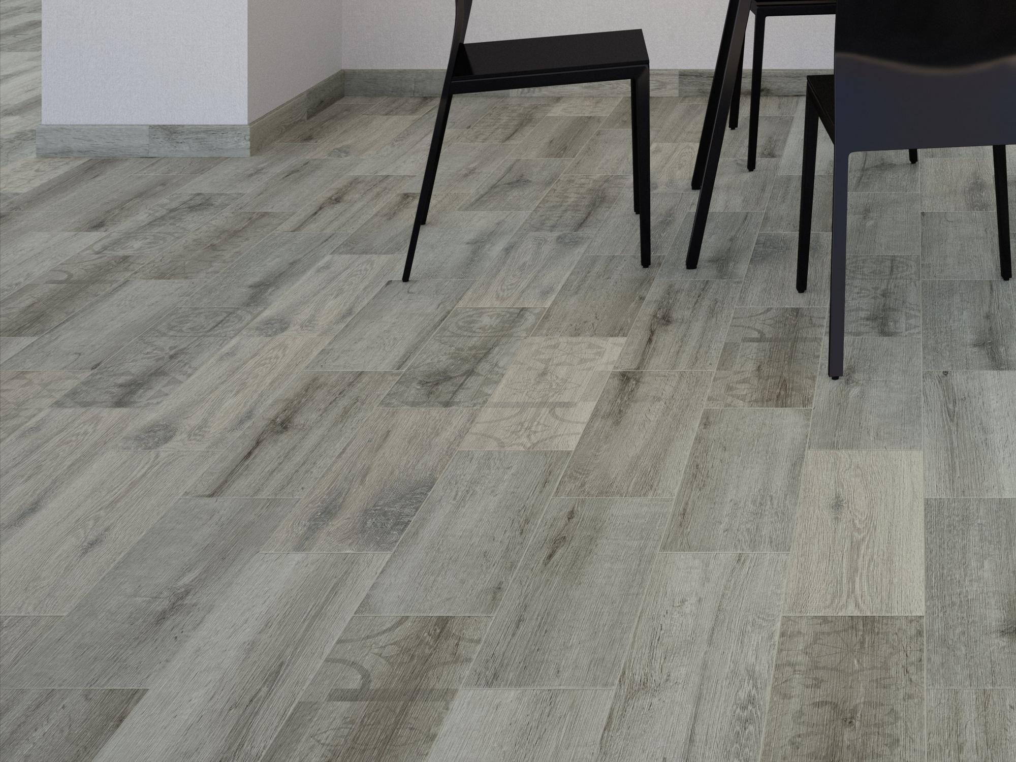 Kivu Ceniza Wood Plank Ceramic Tile Floor Decor Wood Planks Ceramic Floor Tiles Wood Look Tile