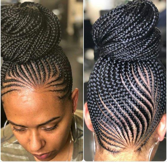 big cornrows hairstyles 2018 female