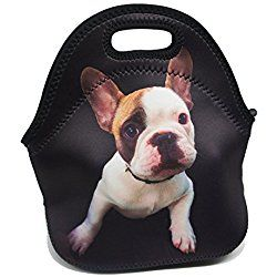 Artone French Bulldog Insulated Gourmet Lunch Bag Waterproof