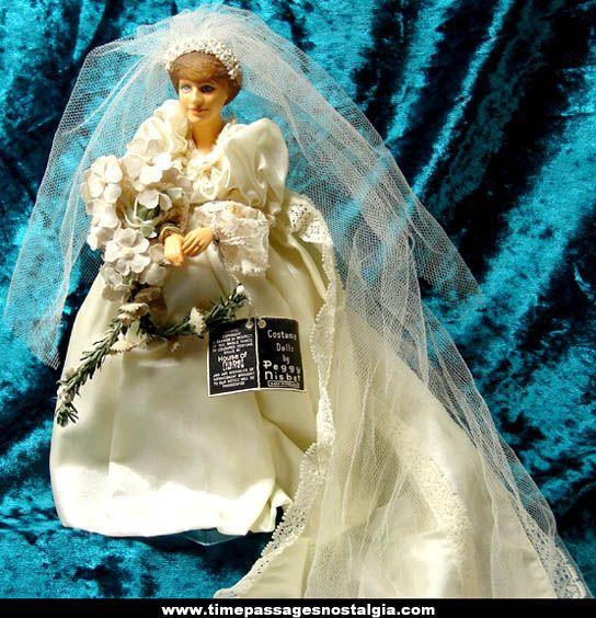 Peggy Nisbet Princess Diana doll | Royal Family Dolls | Pinterest ...