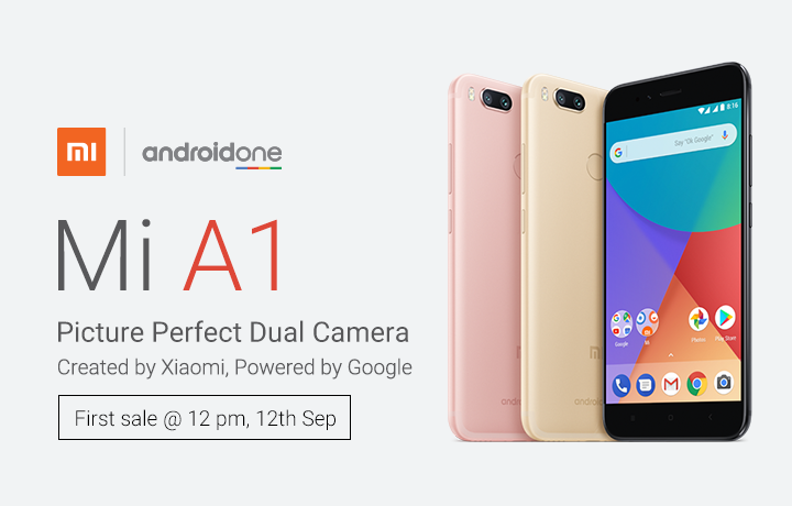 Android One Xiaomi Mi A1 now official in India Android