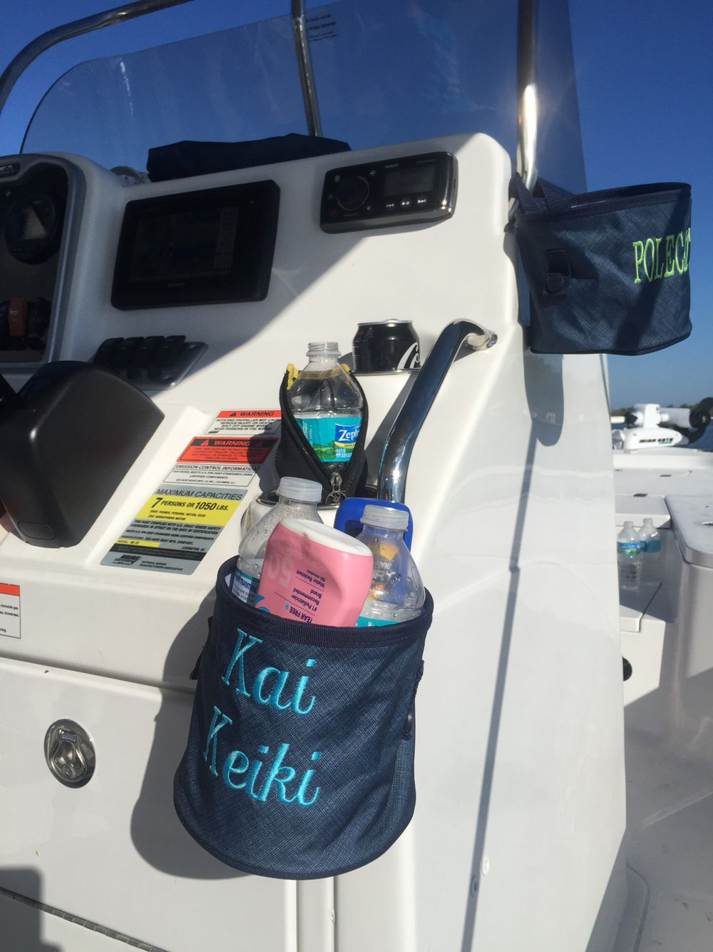 Oh snap bin ideas - Never Enough Cup Holders On The Boat Oh Snap Bins Save The Day