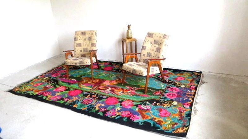 Alfombras salon modernas alfombra lana moderna pasillo for Alfombras infantiles grandes baratas