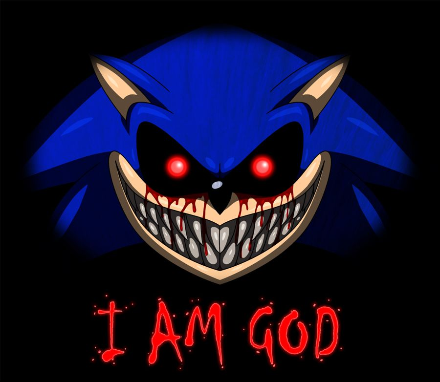 Sonic EXE | Creepypasta sonic exe | Creepypasta, Sonic the