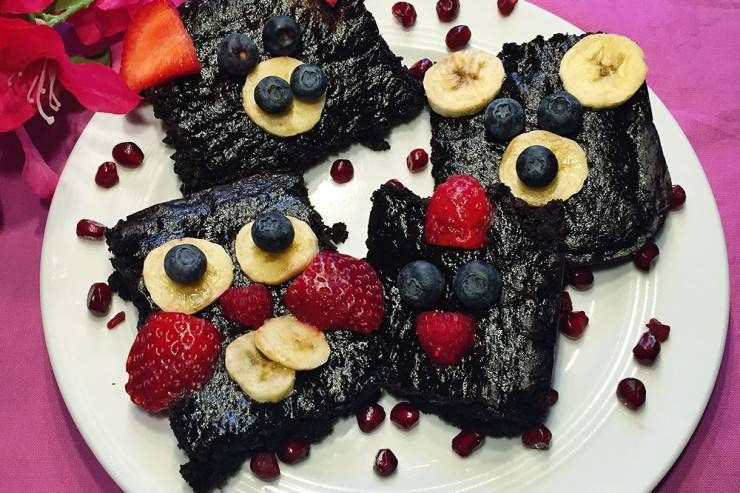 Vegan brownies // The PumpUp Blog