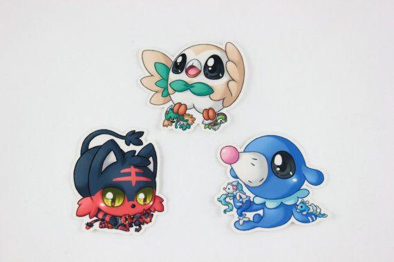 Alola Pokemon Starters 2\