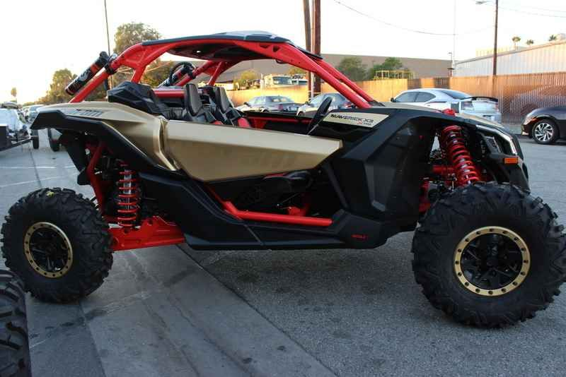 New 2017 Can Am Maverick X3 X Rs Turbo R Gold Can Am R Atvs For Sale In California 2017 Can Am Maverick X3 X Rs Turbo R Gold Can Am Red