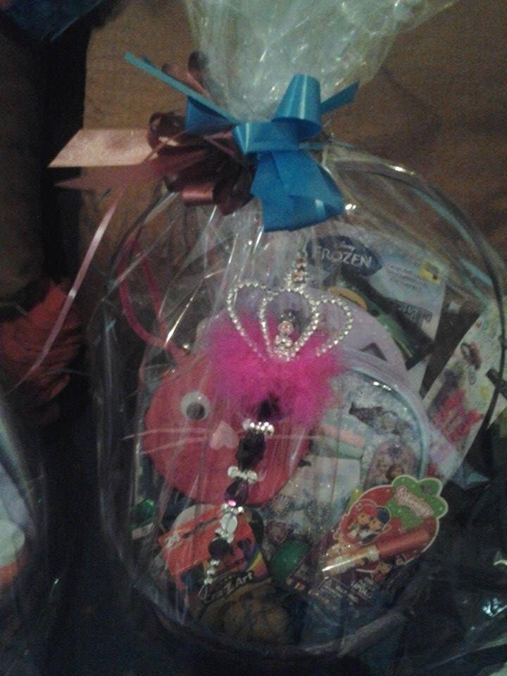 Disney Frozen Special Request Basket 1-SOLD https://www.facebook.com/giftbasketsbymel