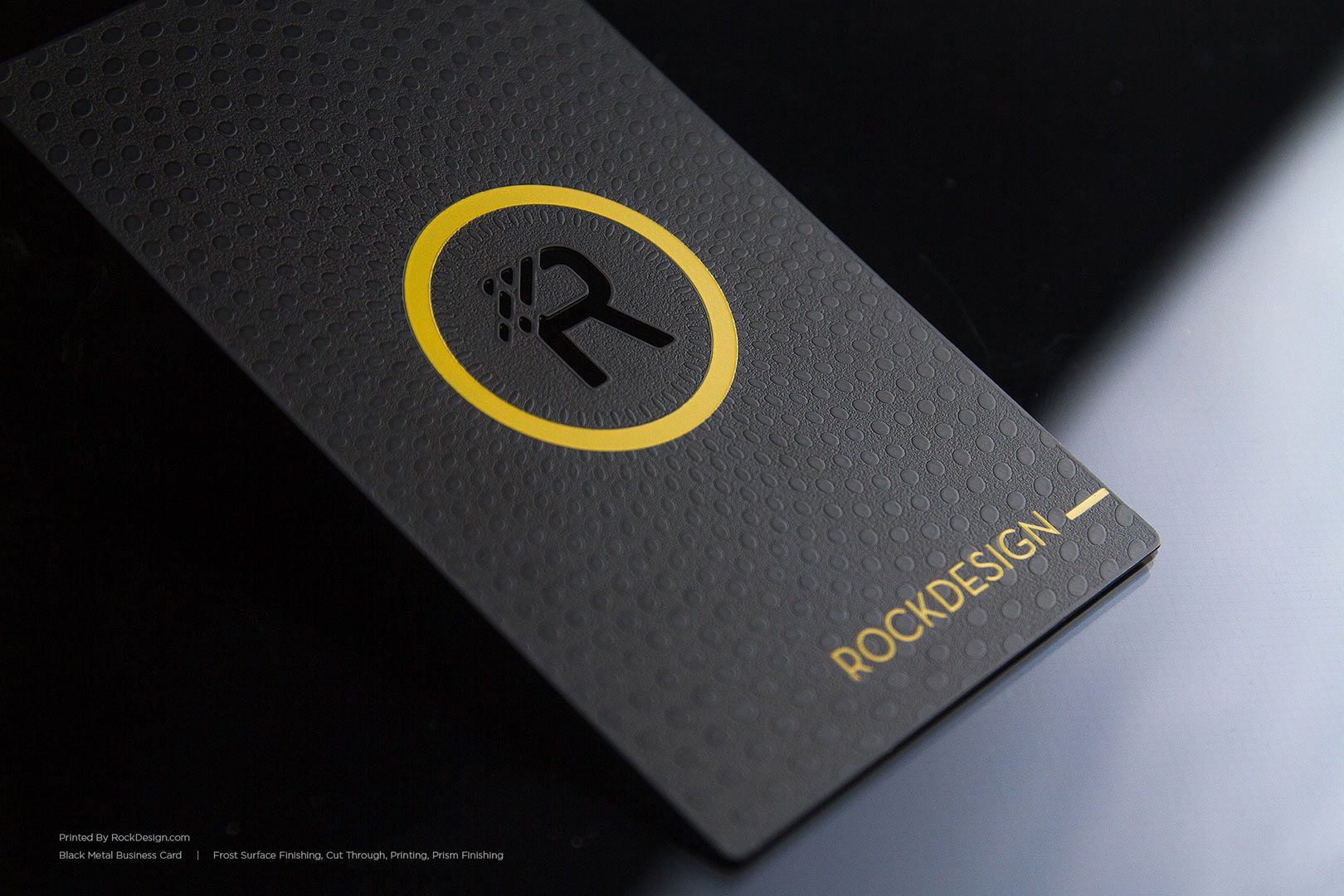 Luxury Black Metal Business Cards | RockDesign Luxury Business Card ...