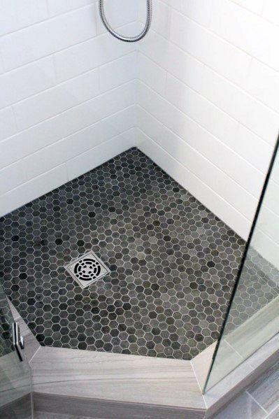 Top 50 Best Shower Floor Tile Ideas Bathroom Flooring Designs In 2020 Shower Floor Tile Beautiful Bathroom Renovations Shower Floor