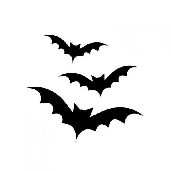 Gabarit chauve souris a imprimer gothic en 2018 pinterest chauve souris halloween et dessin - Chauve souris a imprimer ...