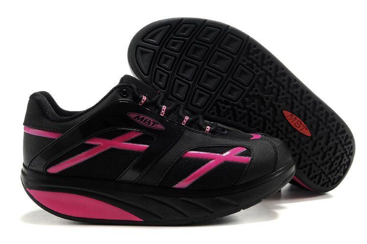 MBT M.Walk Pink / Black Walking Shoes for Men