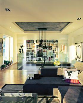Love This Renovated Flat In Moshe Safdie S Habitat 67 Architecture Design Interior Design Interior Design Living Room Home