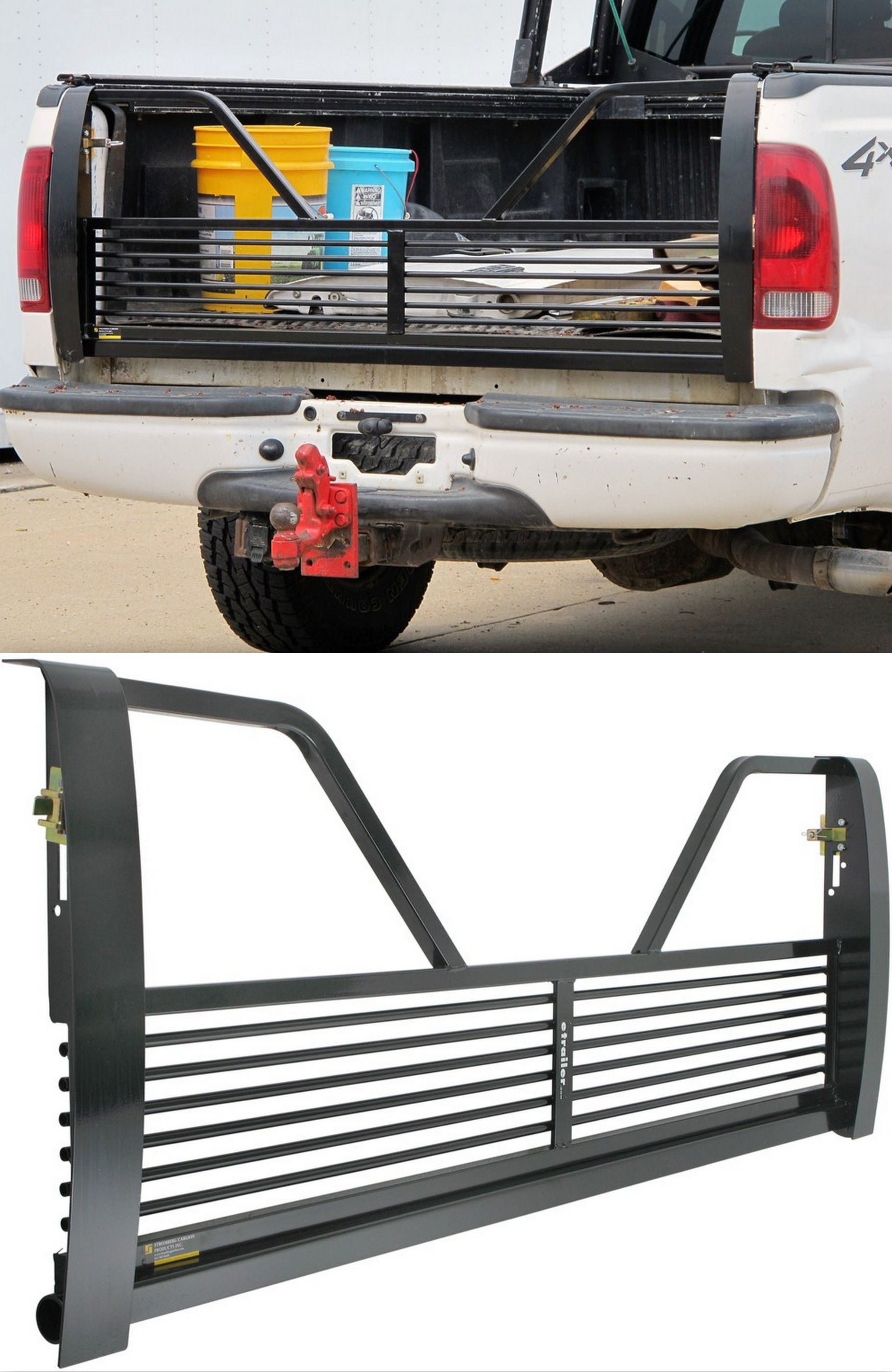 Stromberg carlson 100 series wheel tailgate with open design for ford trucks stromberg carlson tailgate
