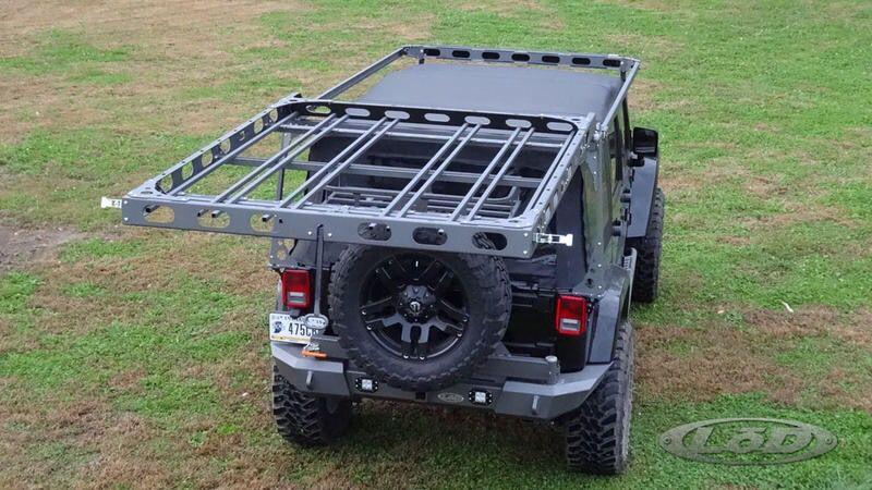 Lod Roof Rack For Jeep Wrangler Jk Jeep Pinterest