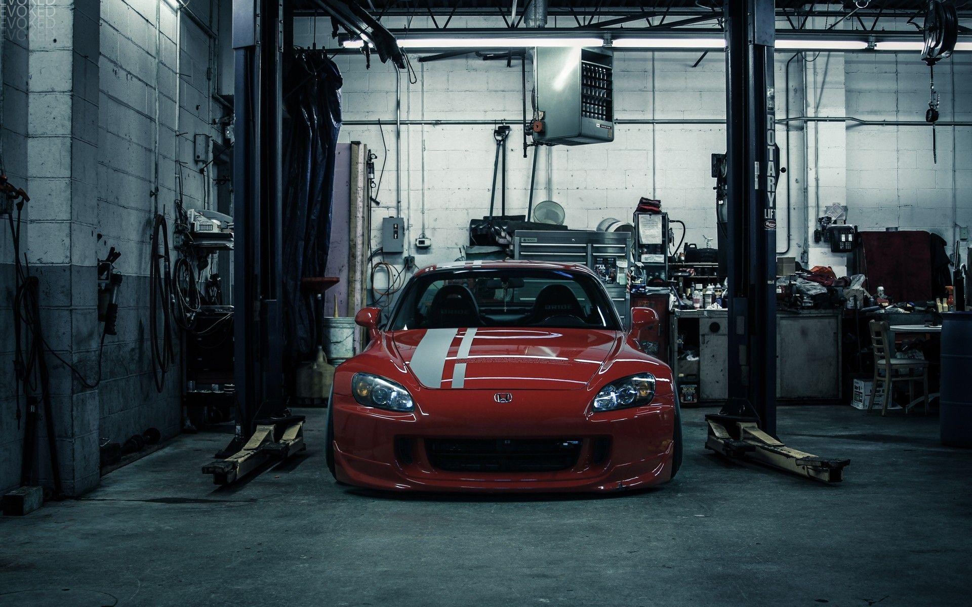 honda cars vehicles tuning garages red cars honda  sports cars jdm japanese domestic market