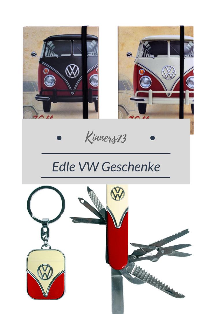 VW Volkswagen Taschenmesser Schlüsselanhänger Set Bulli T1 Bus Geschenk schwarz