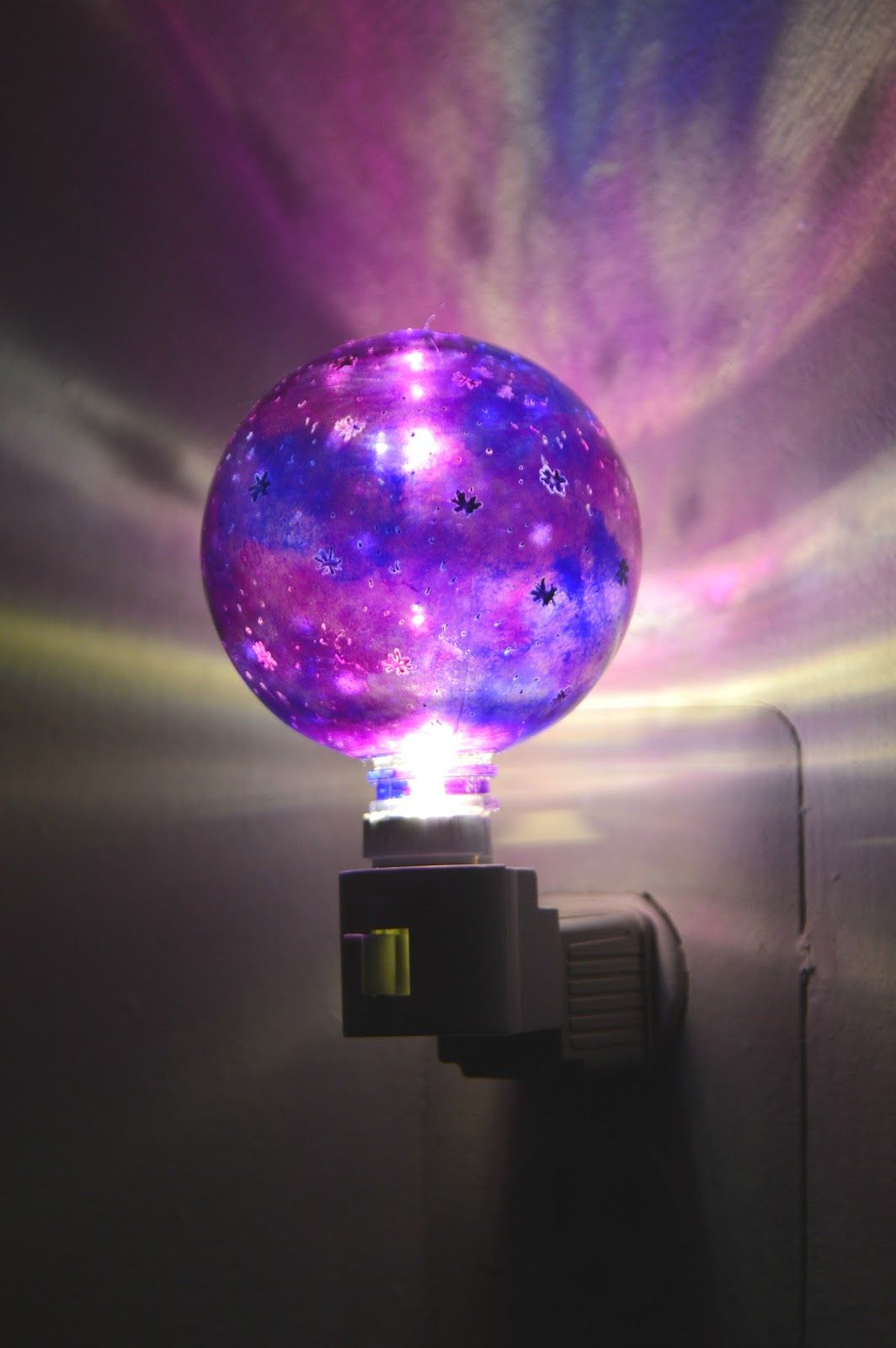 Galaxy Lights For Bedroom How To Make A Galaxy Night Lamp Vbs Galaxy Crafts Diy